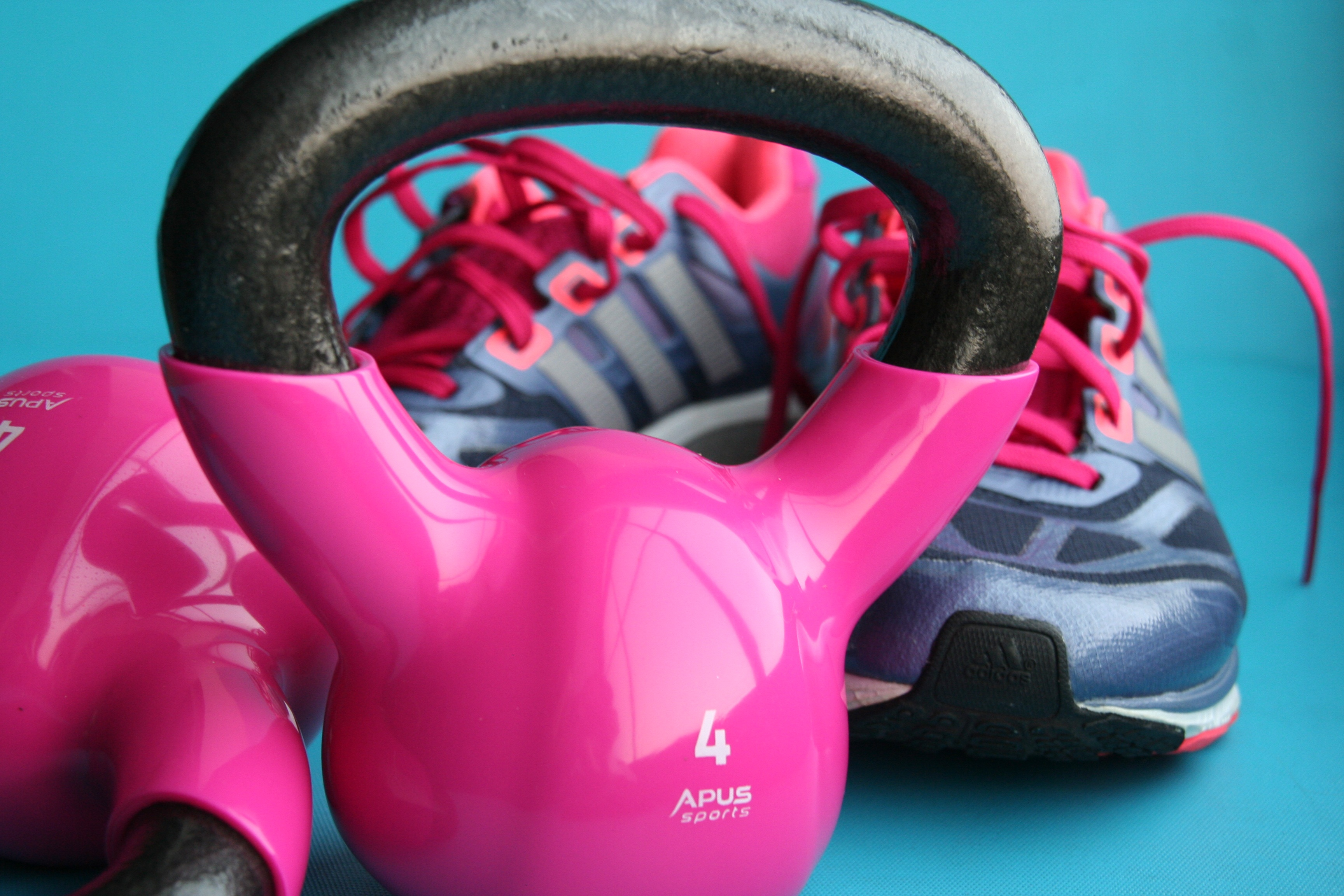 Kettlebell and Trainers